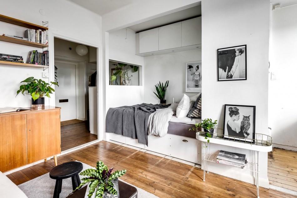 chambre-salon 18 m² idées de conception