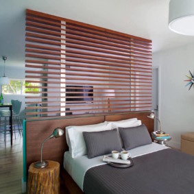 chambre-salon 18 m² photo intérieure