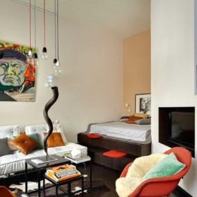 chambre-salon 18 m² idées de liquidation
