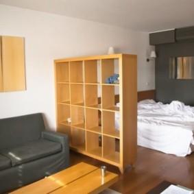 chambre-salon 18 m² idées d'espèces
