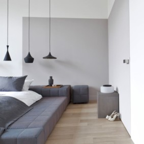 conception de photo de chambre de style minimalisme