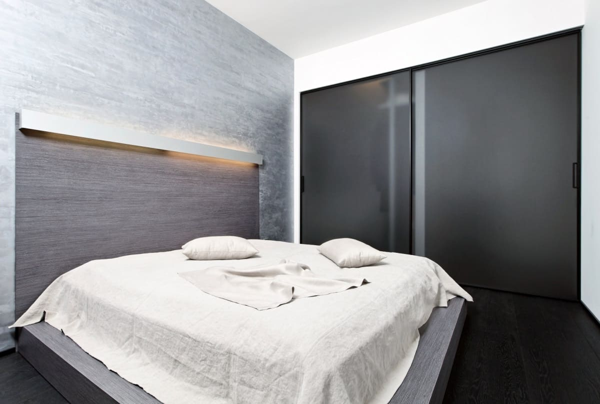 options de photo de chambre de style minimalisme