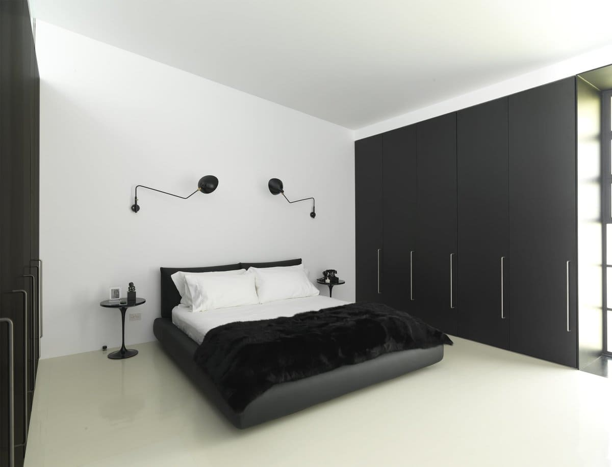 options de conception de chambre de style minimalisme