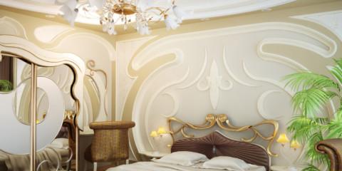 Photo de décoration de chambre Art Nouveau