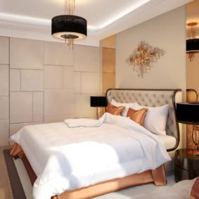 Photo de conception de chambre Art Nouveau