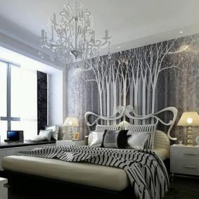 Décoration photo chambre Art Nouveau