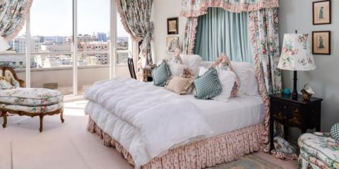 palette de couleurs de la chambre provence
