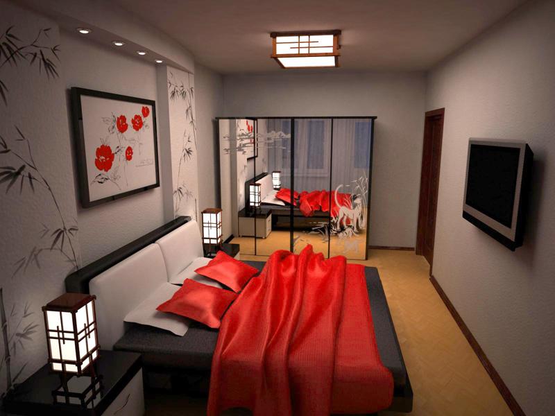 Décoration photo de chambre de style japonais