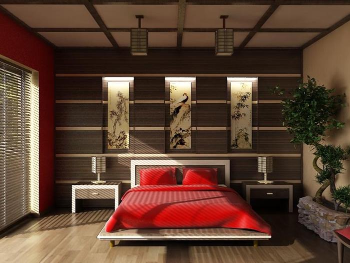 intérieur photo chambre japonaise
