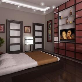 Avis sur la chambre à coucher de style japonais