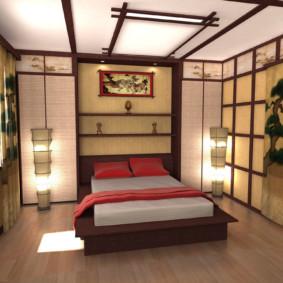 Idées de design de chambre de style japonais