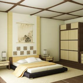 Chambre vue de style japonais photo