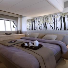 conception de chambre de style japonais