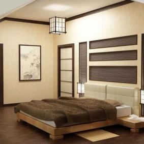 idées de conception de chambre japonaise