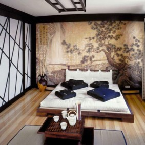 idées de chambre japonaise