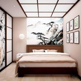 idées de conception de chambre de style japonais
