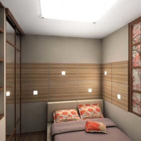 Photo intérieure de la chambre de style japonais