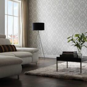hình nền ánh sáng trong trang trí phòng khách