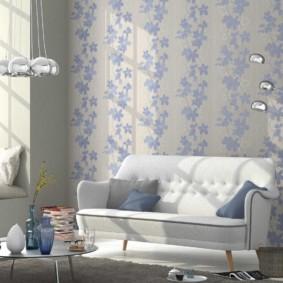 hình nền ánh sáng trong trang trí hình ảnh phòng khách