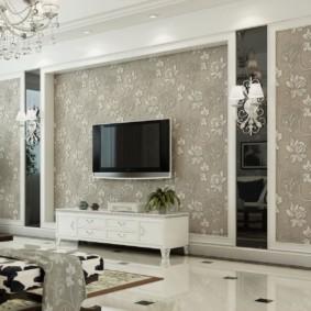 hình nền ánh sáng trong ý tưởng hình ảnh phòng khách