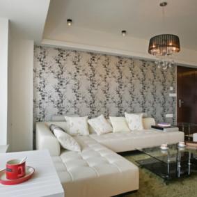 hình nền ánh sáng trong phòng khách ý tưởng nội thất