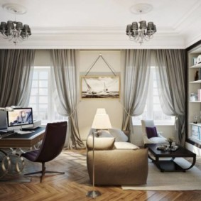 tulle pour les types de décoration de chambre