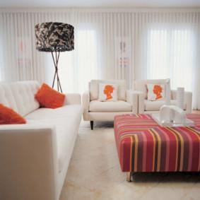 tulle dans les idées de décoration de la chambre