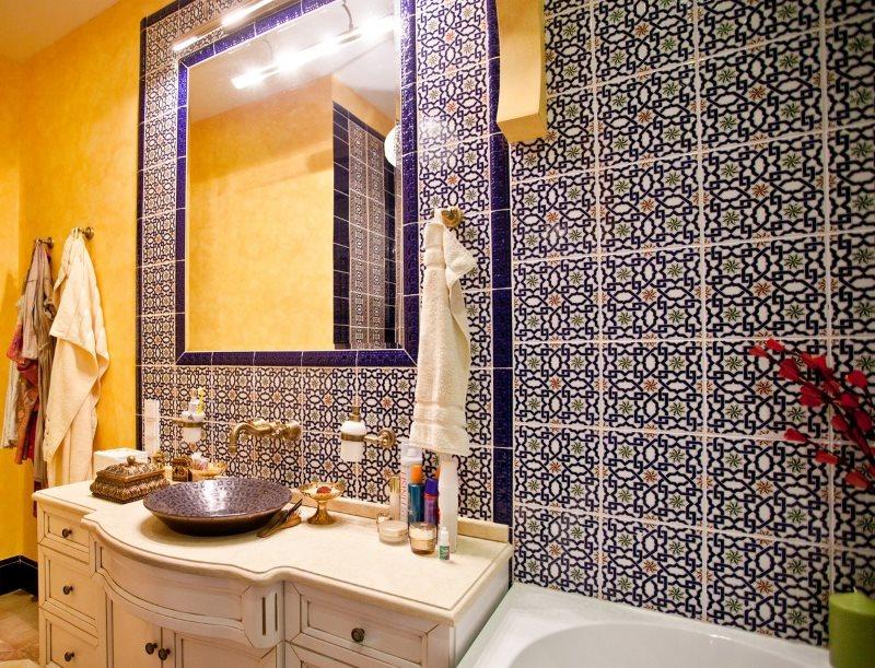 Trang trí phòng tắm lát gạch đẹp