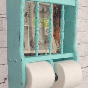 Người giữ giấy vệ sinh retro
