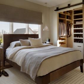 armoire coulissante pour un remplissage de chambre