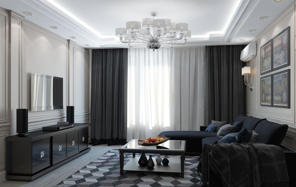 conception de rideaux de haute technologie