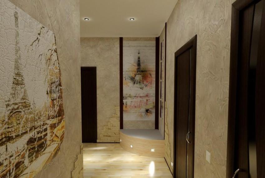 stuc dans le couloir