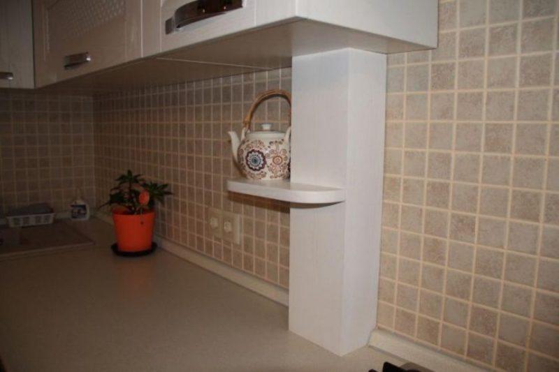 tuyau de gaz dans la cuisine