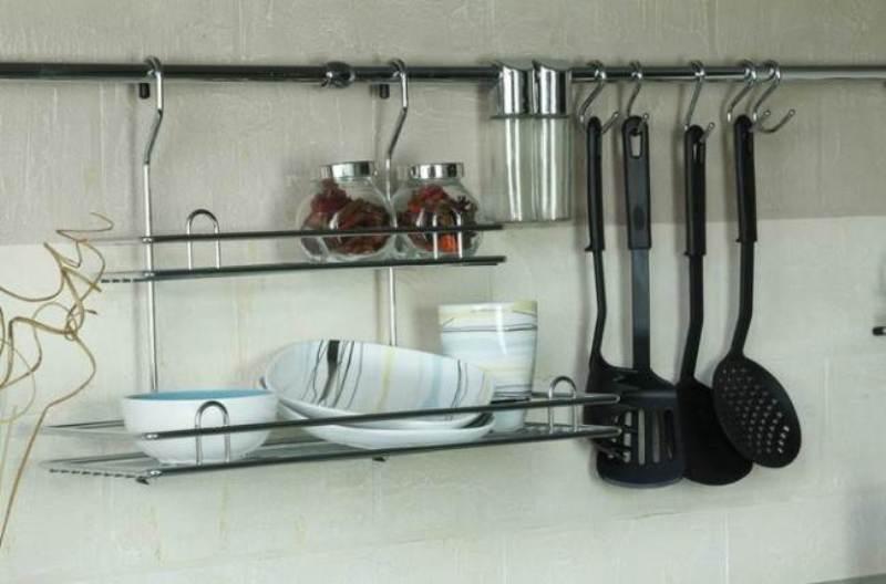 tuyau de gaz dans la balustrade de la cuisine