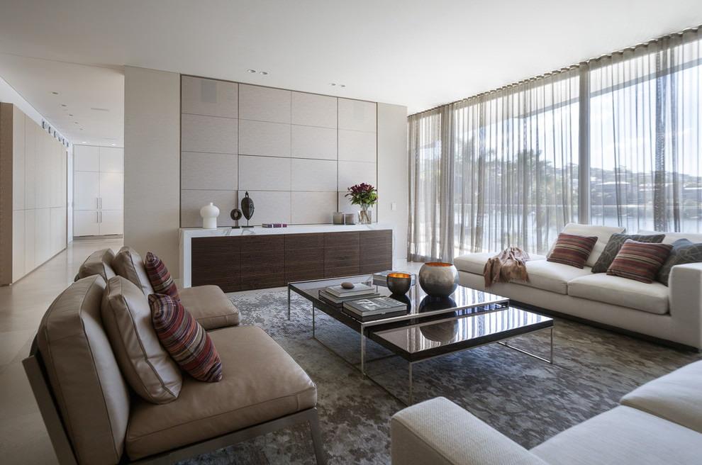 nội thất vải tuyn hiện đại