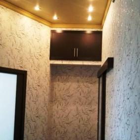 mezzanines dans le décor photo du couloir