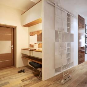 options d'idées de couloir mezzanine