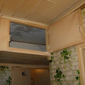 photo de conception de couloir mezzanine