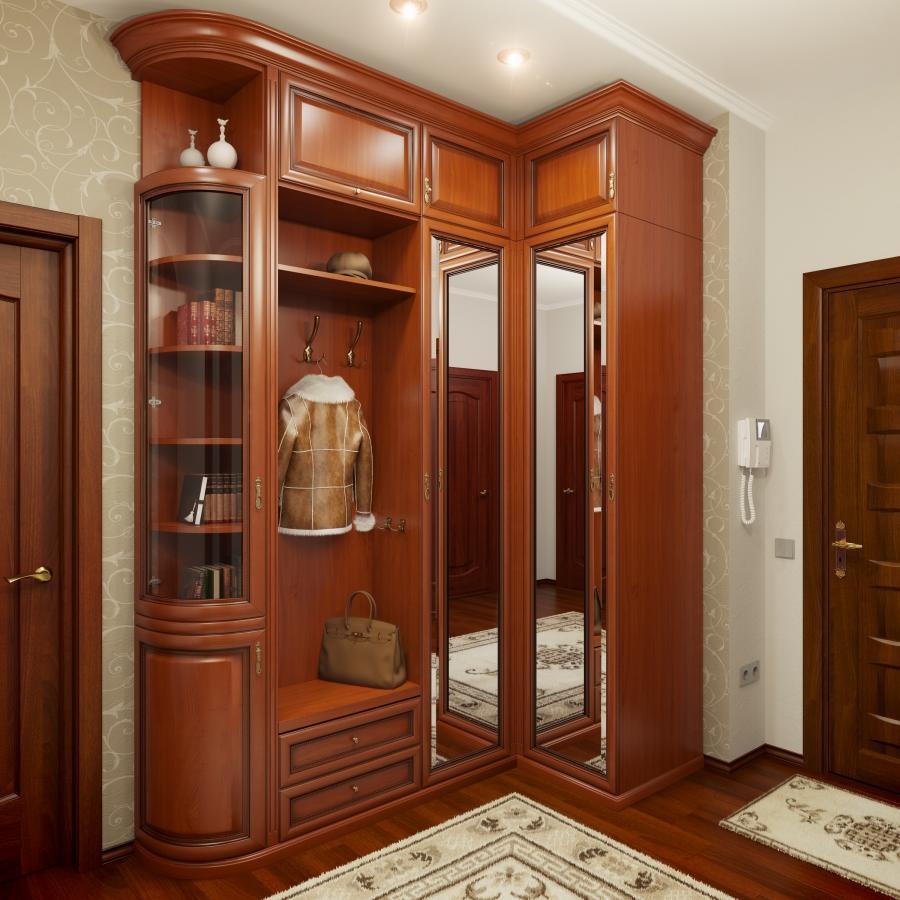 mezzanines dans le couloir