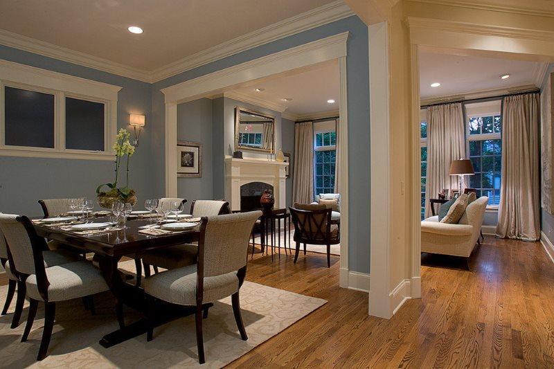 الأرضيات الخشبية في منزل خاص