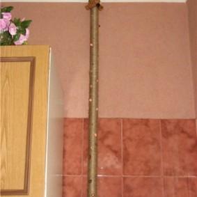 comment cacher un tuyau de gaz dans la cuisine