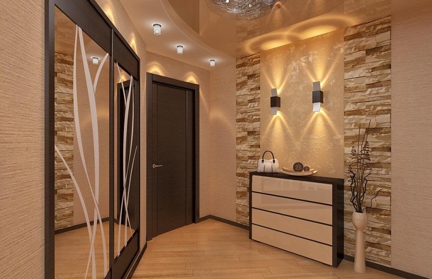 conception de couloir à l'intérieur