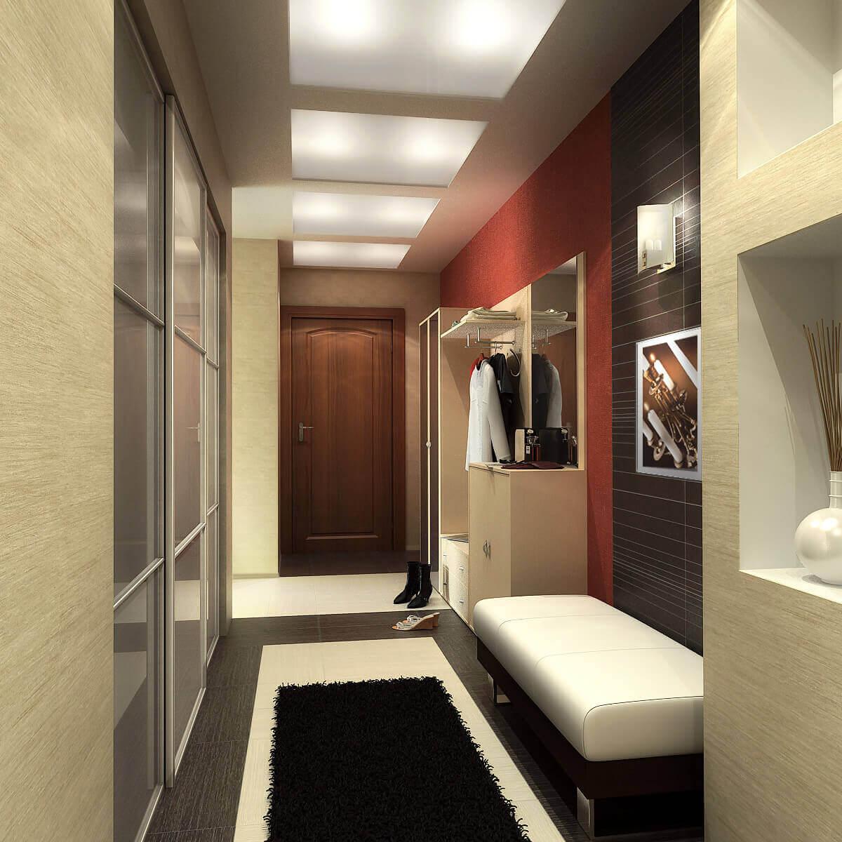 vue de conception de couloir