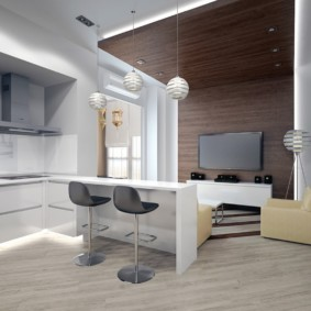 Studio design avec boiseries