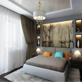 Niches décoratives avec éclairage intégré