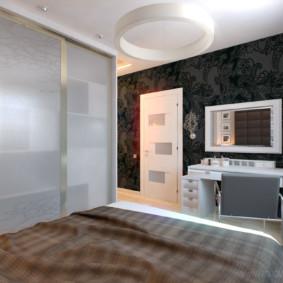 Chambre moderne minimaliste