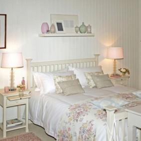 Chambre confortable de style champêtre
