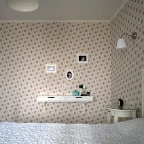 Décoration de chambre en papier peint