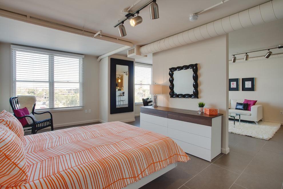 phòng khách và phòng ngủ trong cùng một phòng trang trí hình ảnh