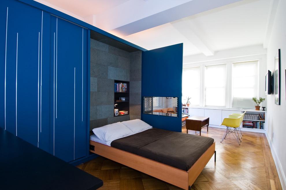 phòng khách và phòng ngủ trong một phòng ý tưởng ý tưởng